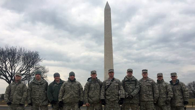 183d Security Forces Defenders Support 59th Presidential Inauguration